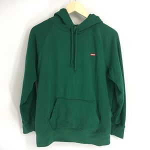 Levis Green Pull Over Hoodie